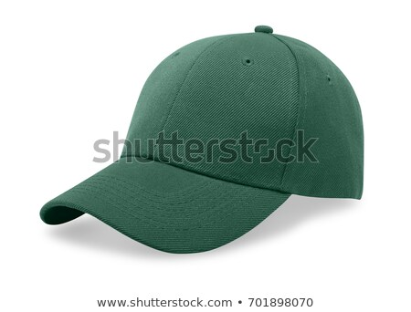 A green baseball cap is isolated on a white Stock photo © ozaiachin