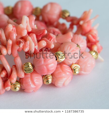 bracelet and coral beads stock photo © taviphoto