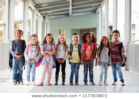 Schoolchildren with backpacks Stock photo © photography33