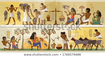 Ancient egyptian art Stock photo © boggy