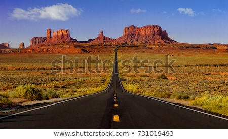 Famous Monument Valley in USA Stock photo © CaptureLight