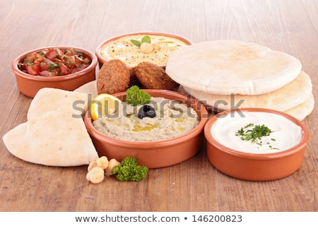lebanese food, cold mezze Stock photo © M-studio