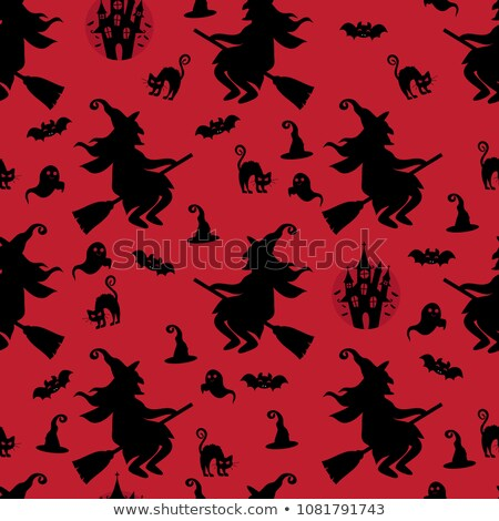 halloween · patroon · verschillend · kleur - stockfoto © BibiDesign