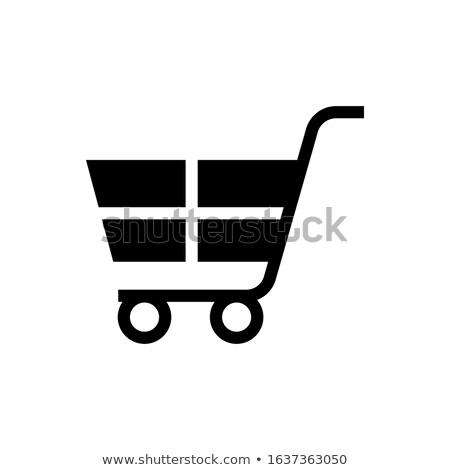 Vásárlás szett terv elemek konzerv használt Stock fotó © Designer_things