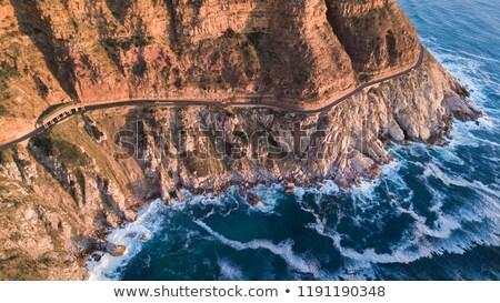 Sürmek görmek okyanus yarımada Cape Town Stok fotoğraf © dirkr