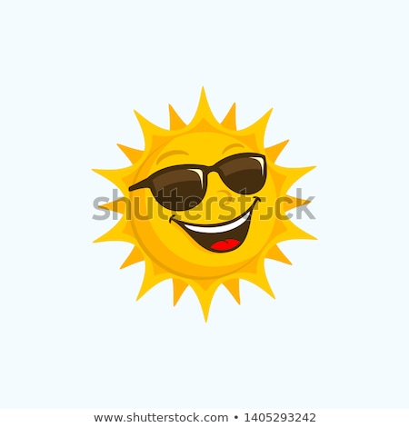 sun with sunglasses stock photo © adrenalina