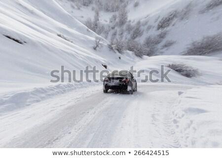 auto · sneeuw · ijs · winter · storm - stockfoto © backyardproductions