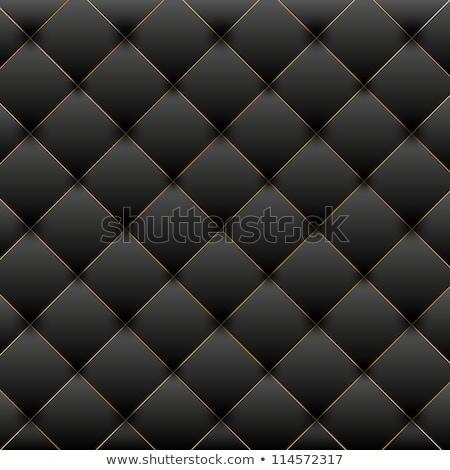 golden black leather furniture texture Stock photo © romvo