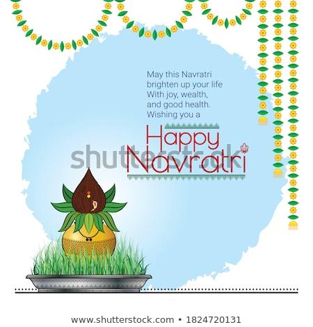 Shubh Navratri Background Stock photo © rioillustrator