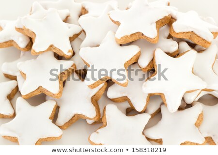 Cinnamon biscuits and christmassy spices Stock photo © Zerbor