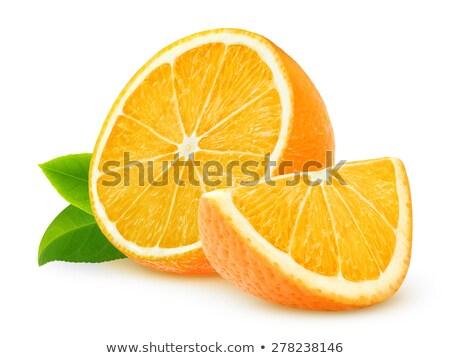 オレンジ カット 食品 フィットネス 果物 レモン ストックフォト © philipimage