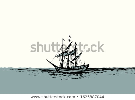 Ship rigging Stock photo © tilo