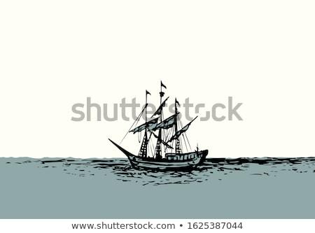 ship rigging stock photo © tilo