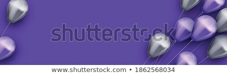 vliegen · harten · vleugels · lint · romantiek · vleugel - stockfoto © maximmmmum