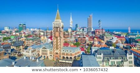 Batumi downtown cityscape, Georgia Stock photo © joyr