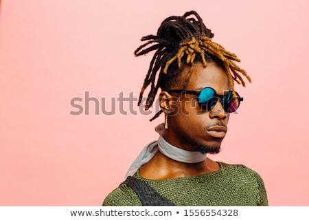 Edgy fashion model posing Stock photo © curaphotography