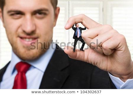 Businessman crushed Stock photo © alphaspirit