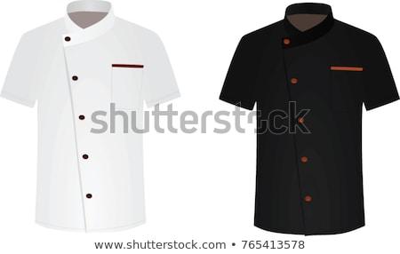 Chef in uniform. Stock photo © RAStudio