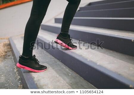 pink with black tights training Stock photo © RuslanOmega