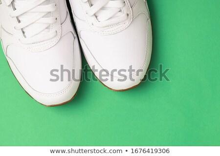 verde · coppia · strisce · sfondo · estate · sabbia - foto d'archivio © shutswis