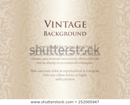 dentelle · vintage · beige · blanche · cadre · fond - photo stock © liliwhite