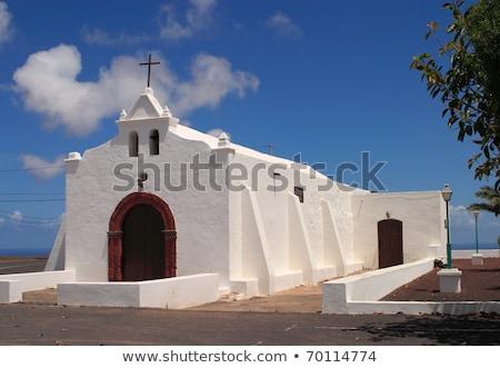 Espanha canárias bastante capela natureza igreja Foto stock © meinzahn