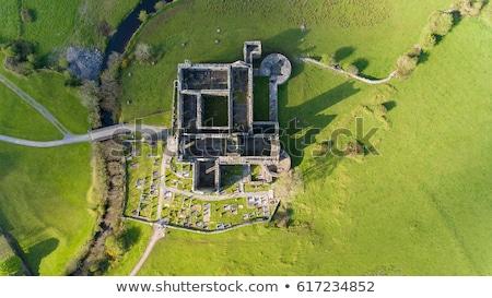известный аббатство Ирландия здании Церкви зданий Сток-фото © meinzahn