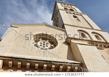 View on the Church of the Redeemer is an Evangelical  church in  Stock photo © meinzahn