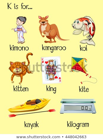 many words start with letter k stock photo © bluering