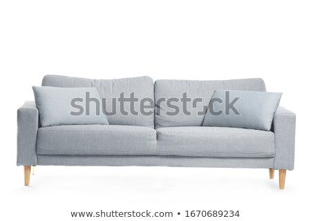 диван · изолированный · белый · моде · дизайна · расслабиться - Сток-фото © zurijeta