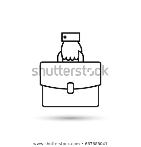 çanta · örnek · dizayn · beyaz - stok fotoğraf © alexmillos