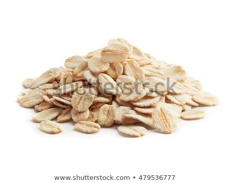 燕麦 フルフレーム 朝食 栄養 ストックフォト © Digifoodstock