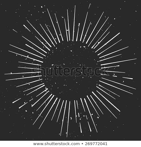 Grenze Vorlage Planeten Galaxie Illustration Welt Stock foto © bluering