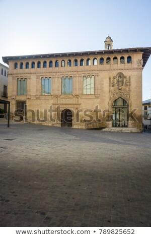 Bina detay İspanya duvar eski Stok fotoğraf © smartin69