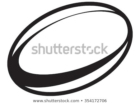 мяч для регби тень линия улице никто Сток-фото © IS2