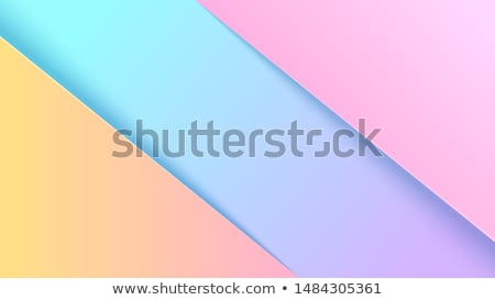 papercut background in bright pink and yellow colors Stock photo © SArts