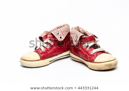 old red sandal stock photo © lienkie