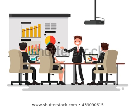 Business Meeting Collection Vector Illustration Stock photo © robuart