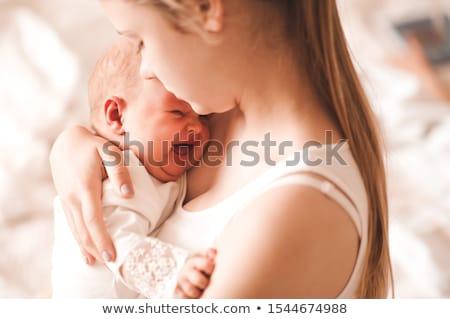 baba · bent · sír · szomorú · fiú · könnyek - stock fotó © dolgachov
