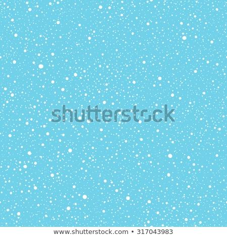 vallen · sneeuw · patroon · witte · vector · winter - stockfoto © essl