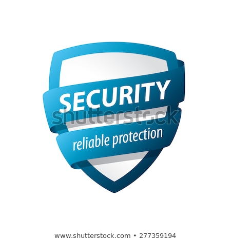 shield logo vector clip art icon Stock photo © blaskorizov