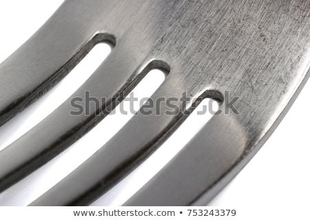 макроса изолированный белый дизайна фон металл Сток-фото © inxti
