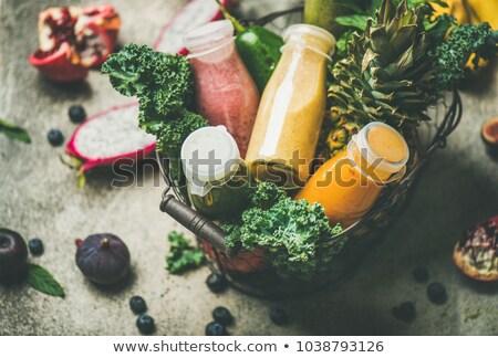 ананаса серый конкретные Top мнение плодов Сток-фото © furmanphoto