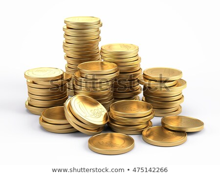 blank old gold coin 3d stock photo © djmilic