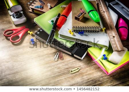 szkoły · biurko · kopia · przestrzeń · powrót · do · szkoły · student - zdjęcia stock © grafvision