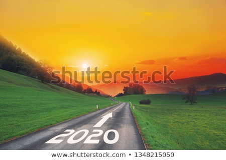 Empty Year 2020 Goals List Concept Stock photo © ivelin