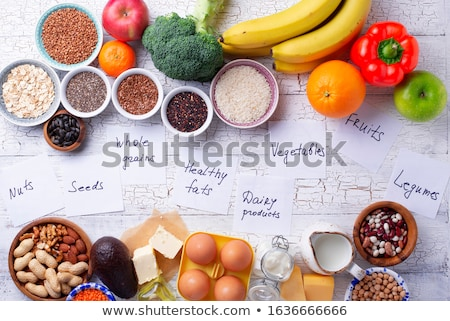 Ovo-lacto vegetarian healthy diet concept. Stock photo © furmanphoto