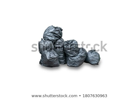 Waste container on white background Stock photo © magraphics