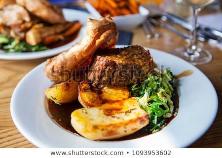 Vegetarian Sunday Roast Stock photo © frannyanne