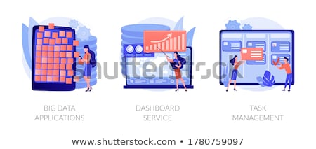 Task management vector concept metaphor Stock photo © RAStudio